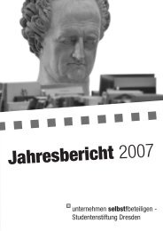 PDF - Studentenstiftung Dresden