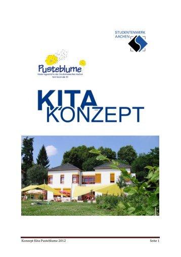 Konzept Kita Pusteblume 2012 Seite 1 - Studentenwerk Aachen