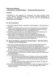 Entwurf, 3 - Studentenstiftung Dresden