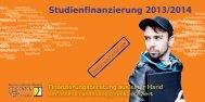 Studienfinanzierung 2013/2014 - Studentenwerk Kassel