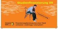 Studienfinanzierung 09 - Studentenwerk Kassel