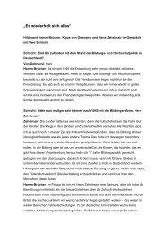 Interview mit Frau Hildegard Hamm Brücher und Herrn Hans ...