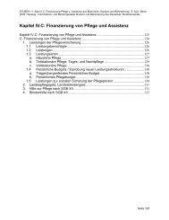 Finanzierung von Pflege und Assistenz - Deutsches Studentenwerk