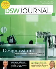 DSW Journal – Heft 4 | November 2008 - Deutsches Studentenwerk