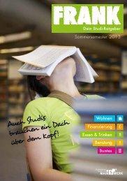 Auch Studis brauchen ein Dach über dem Kopf! - Studentenwerk ...