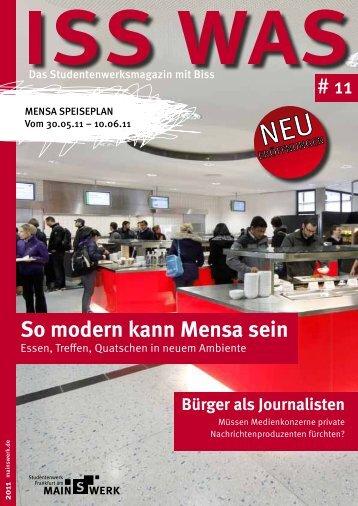 So modern kann Mensa sein - Studentenwerk Frankfurt am Main
