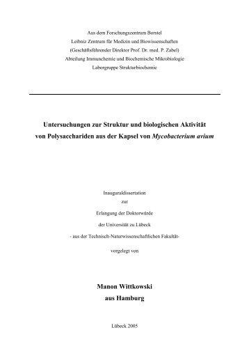Untersuchungen zur Struktur und biologischen Aktivität von ...