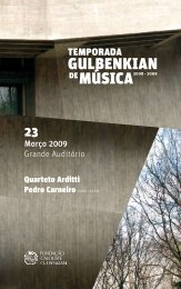 gulbenkian - Student Home Pages