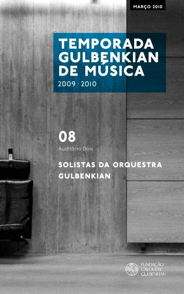 solistas da orquestra gulbenkian - Student Home Pages