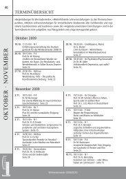Terminübersicht für das WiSe 2009/2010 als ... - Studium generale