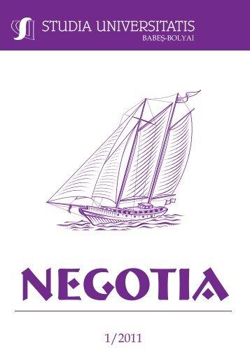 negotia - Studia