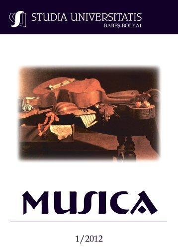 musica - Studia