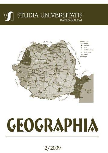 geographia - Studia