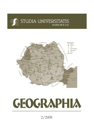 studia universitatis babeş – bolyai geographia 2