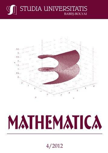 mathematica - Studia