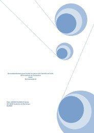 CCF de PSE en Bac PRO et évaluations intermédiaires CAP et BEP