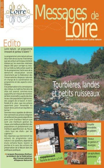 Messages de Loire n°4 - Loire nature