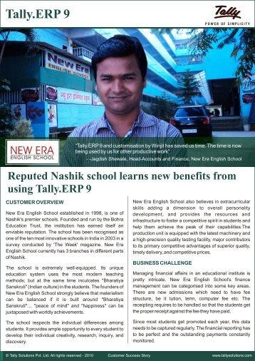 New Era English School Customer Success Story - Tally