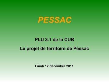 Pessac Ville durable - Participation de la CUB et de ses communes ...