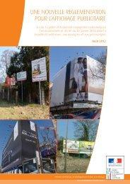 Brochure sur la réforme de l'affichage publicitaire - Ministère du ...