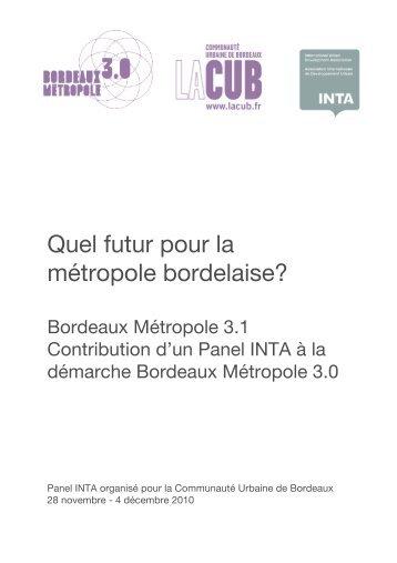 Rapport CUB 25012011 - Participation de la CUB et de ses ...