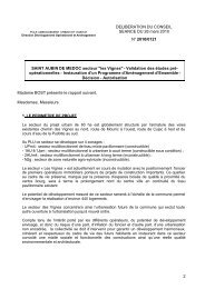PAE - Participation de la CUB et de ses communes - Cub