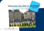 Observatoire des effets du tramway sur l'activité économique