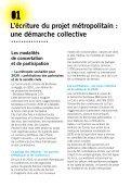 Bilan de la participation sur le projet métropolitain - Participation de ... - Page 6