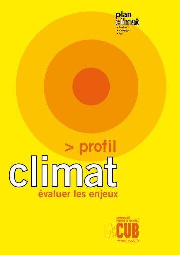 profil - Participation de la CUB et de ses communes - Cub
