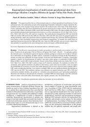 Regionalized classification of multivariate geochemical data from ...