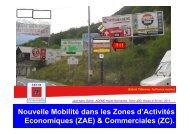 Zones d'activités économiques et mobilité - Arehn