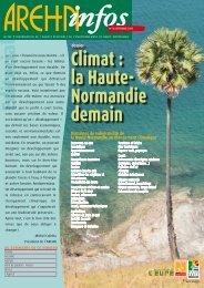 Climat : la Haute- Normandie demain - Arehn