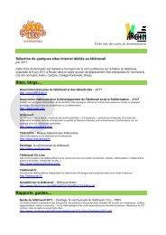 Sélection de quelques sites Internet dédiés au télétravail - Arehn