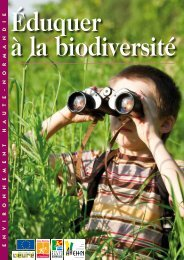 Eduquer à la biodiversité - Arehn