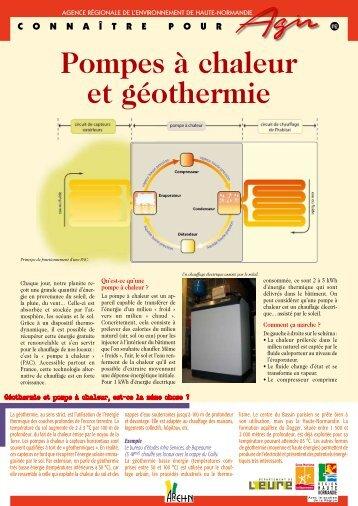Pompes à chaleur et géothermie - Arehn