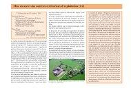 Mise en oeuvre des contrats territoriaux d'exploitation - Arehn