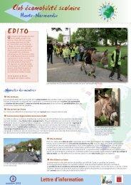 Lettre d'information n°3 - Arehn