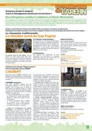 L'ACREPT Le chantier naval du Cap Fagnet - Arehn