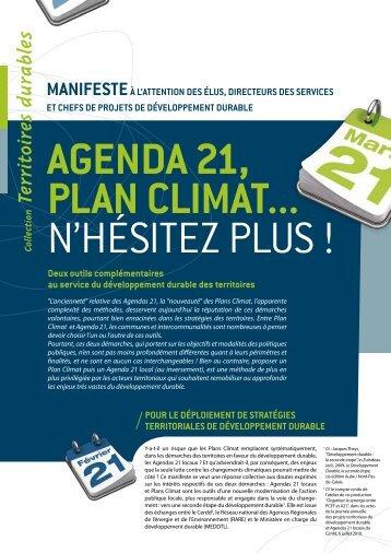 Agenda 21, Plan Climat... n'hésitez plus - Arehn