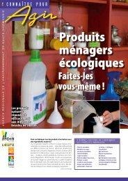Produits ménagers écologiques : faites-les vous-même - Arehn