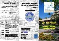 Einladung Jahresfest 08 e-book - Elias-Schrenk-Haus in Tuttlingen