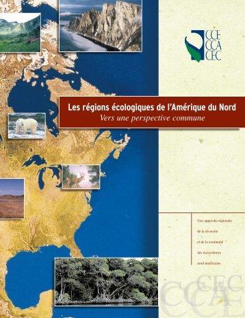 Les régions écologiques de l'Amérique du Nord - Commission for ...