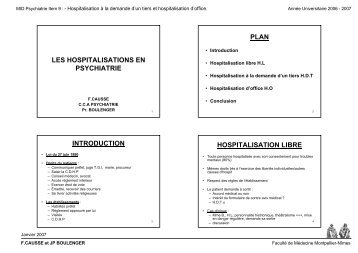 Hospitalisation la demande d 39 un tiers et hospitalisation d 39 office 09 - Procedure hospitalisation d office ...