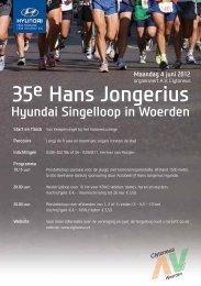 35e Hans Jongerius Hyundai Singelloop - Clytoneus
