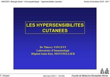 dermatite atopique - Faculté de médecine de Montpellier