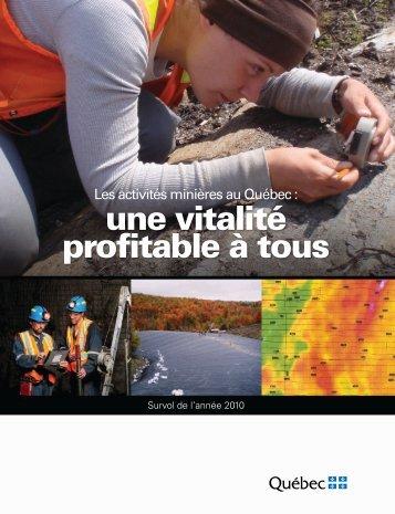 Format PDF, 4 Mo - Ministère des Ressources naturelles ...