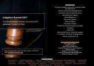 Litigation Summit 2011 - DKN Networks