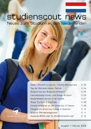Studienscout News - Studium in den Niederlanden