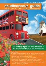 Als PDF - Studium in den Niederlanden