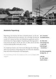Akademie Papenburg